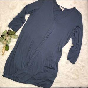 ANTHROPOLOGIE Meadow Rue Twirl Hem Jersey Dress